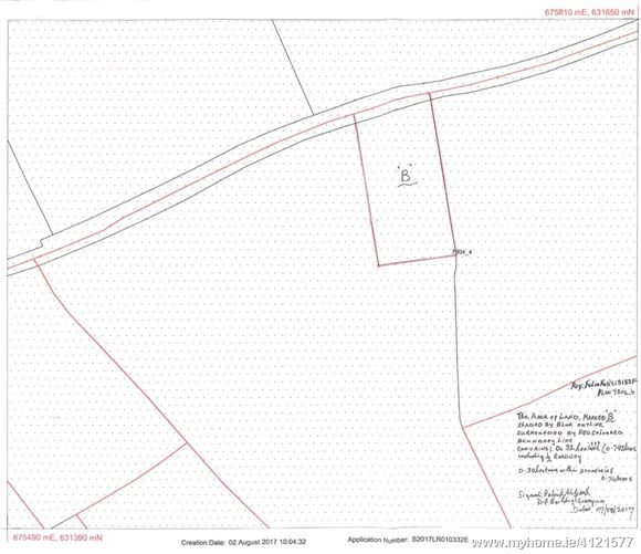 Ballyanne 0.792 Acre Site, New Ross, Co. Wexford