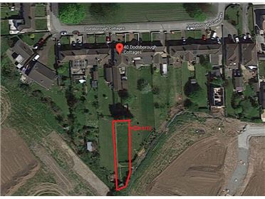 Photo of Site at Rear of 40 Dodsboro Cottages, Lucan, Dublin