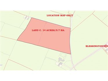Photo of Land c. 14 acres/5.7 HA., Glebe East, Ballymore Eustace, Kildare