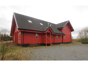 The Red Wooden House, Aghagower, Westport, Mayo