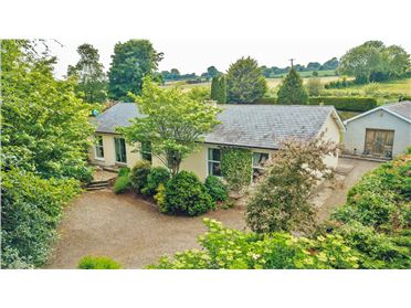 "Photo of Four Bed Residence on c. 0.57 Acre/ 0.23 Ha., ""Roslynn"", Toolestown, Dunlavin, Wicklow"
