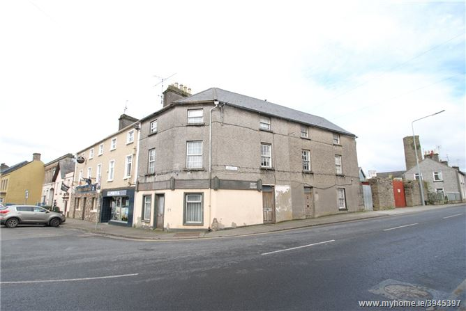 Photo of Castle St & Church St, Roscrea, Co Tipperary