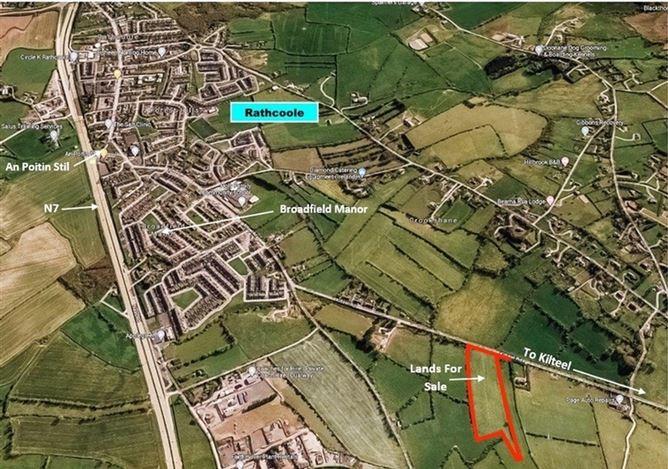 Main image for c. 6.5 Ac / 2.61 Ha Carrigeen, Rathcoole, Co. Dublin