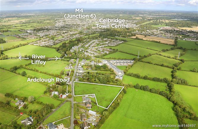 Ardclough Road, Celbridge, Co. Kildare - approx. 4 acres (Zoned Residential)