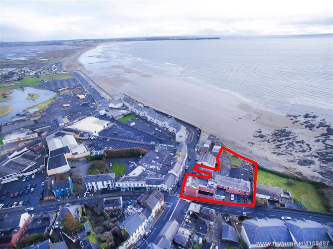 The former Waterfront Hotel and Cuil Tra bar, Tramore, Waterford