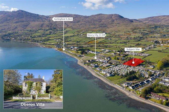 Main image for Oberon VIlla, Development Site with P.P For 6 No. Res. dwellings, Omeath, Co. Louth