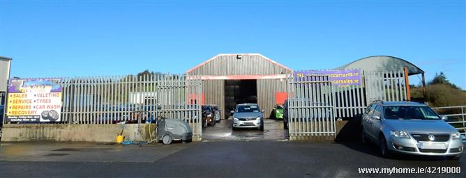 Former Commercial Car Sales, Darragh, Ennis, Co. Clare. V95 E6KK