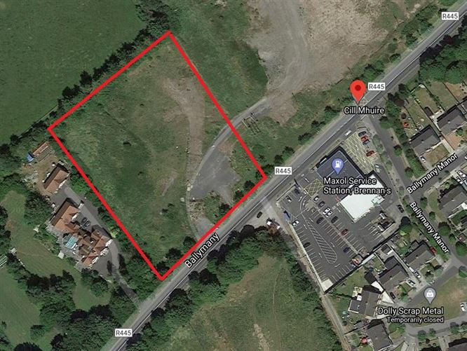 Main image for 2.49 Acres of Land, Ballymany, Newbridge, Kildare