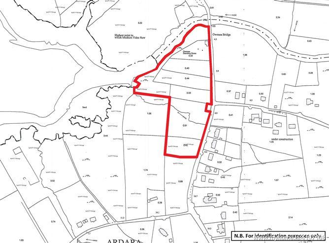 Land (Folio DL57915F) at Owenea Bridge, Ardara, Co. Donegal