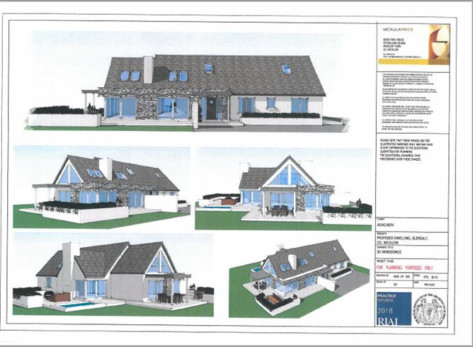 Main image for Site at Ballyfree East, Glenealy, Wicklow