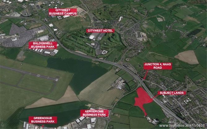 12.7 acres at Rathcoole Interchange, Naas Road, Rathcoole, Co. Dublin, Rathcoole, County Dublin