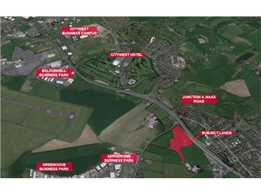 Main image of 12.7 acres at Rathcoole Interchange, Naas Road, Rathcoole, Co. Dublin, Rathcoole, County Dublin