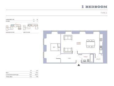 One Bedroom Apartment, Blackrock House, Blackrock, Cork