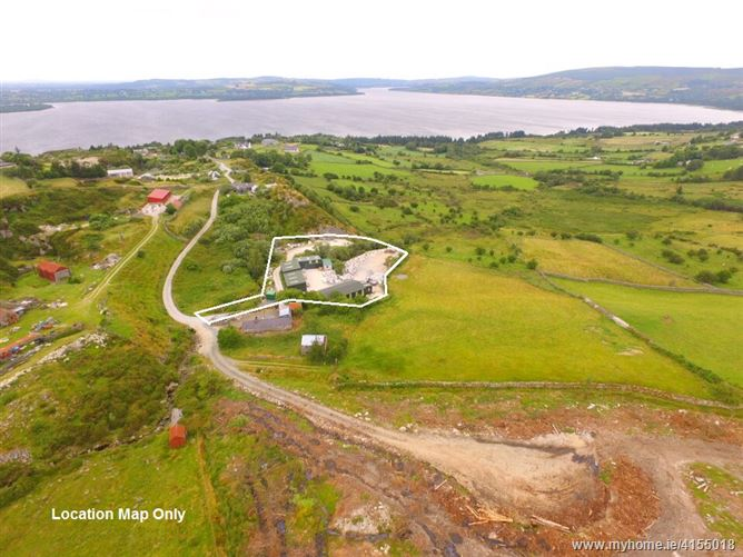 Substantial Buildings on c. 1 Acre/ 0.4 Ha., Ballyknockan, Valleymount, Wicklow