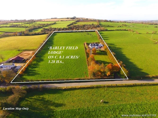 'Barley Field Lodge', on c.8.1 acres/3.28 HA.,Colbinstown, Kilcullen, Kildare