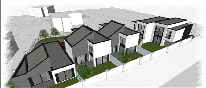 Site With Full Planning Permission For Five Houses Greenacres, Old Kilgobbin Road, Sandyford, Dublin 18