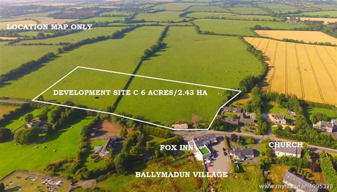 Residential Development Site c. 6 Acres/ 2.43 HA., Ballymadun Village, Dublin North County, Dublin