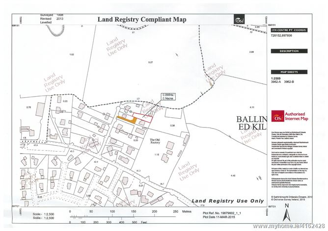 0.14 acres Zoned Residential Site at Ballinahinch, Ashford, Wicklow