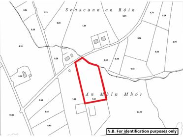 Photo of Land comprised within Folio DL75680F at Meenmore, Dungloe, Co. Donegal