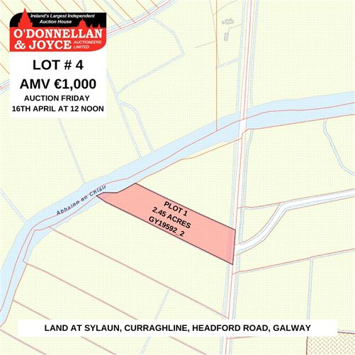 Main image for PLOT 1, Sylaun, Curraghline, Headford Road, Co. Galway