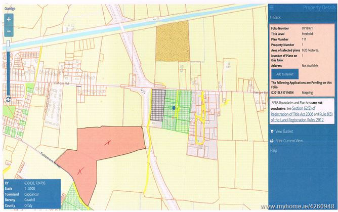C 32 Acres Zoned Industrial Commercial Land Tullamore Offaly