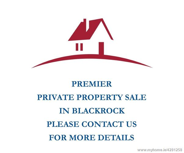 Property For Sale, Blackrock, County Dublin