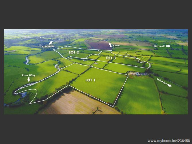 Main image for 154 Acres (In Lots) at Ardrass, Straffan, Kildare