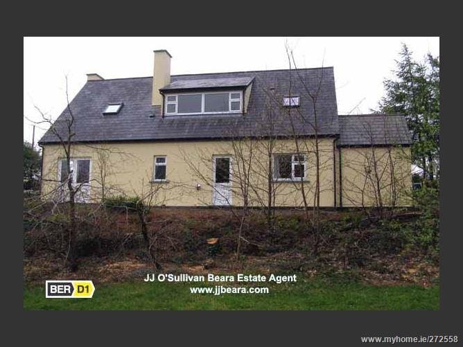 Main image for FIVE BEDROOM DORMER BUNGALOW ON C0.8 ACRES AT CAHERGARRIFF DUNBOY CASTLETOWNBERE, , Beara, West Cork