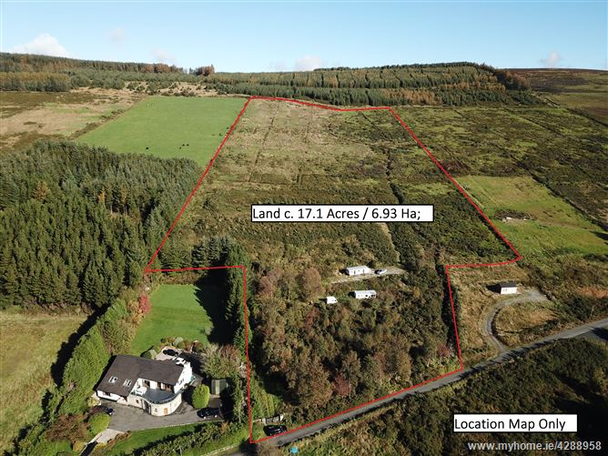 Land c. 6.93 Hectares/ 17.1 Acres, Gap Road, Lacken, Blessington, Wicklow