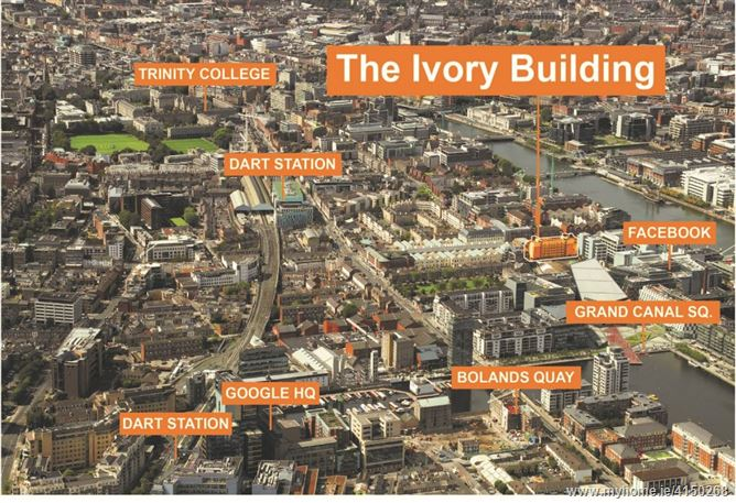 The Ivory Building, Hanover Street East, Grand Canal Dk, Dublin 2