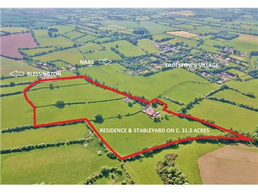 Photo of Land C. 31.5 Acres/ 12.75 Ha. with Residence & Stableyard, Eadestown, Naas, Kildare