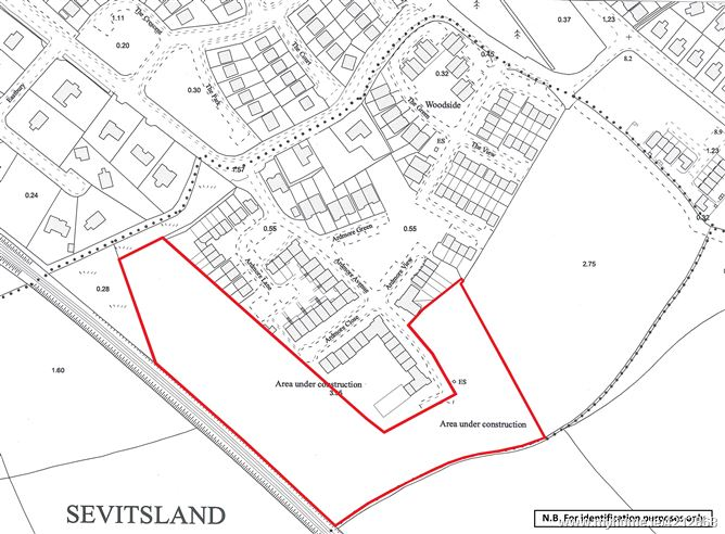 Lands comprised within part Folio MH45698F, Ardmore, Bettystown, Co. Meath