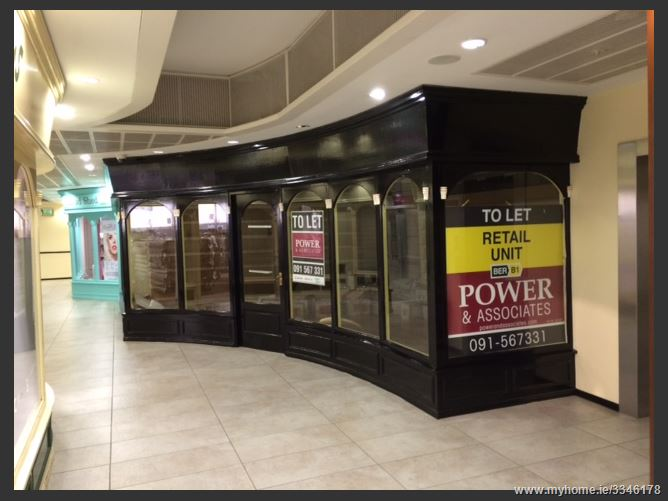 LET AGREED - Unit 7, Level 3, Corbett Court Shopping Centre, City Centre, Galway City
