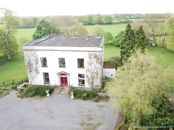 Downings House on c. 9½ Acres , Prosperous, Naas, Kildare