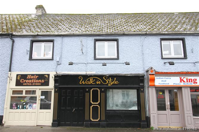 Former Walk in Style Shop, River Street, Clara, Co Offaly, Co. Offaly