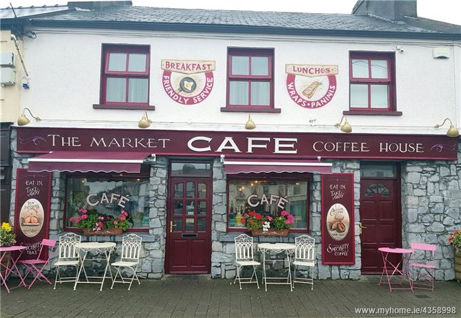 Main image for The Market Cafe & Residence, Market Square, Charlestown, Co Mayo, F12 ED83