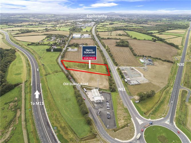 Main image for Land At Clavass,Old Dublin Road,Enniscorthy,Co. Wexford