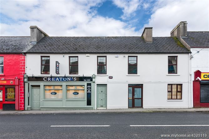 Main image for Creatons, New Street, Ballaghaderreen, Roscommon