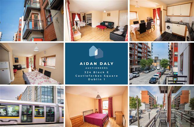 Main image for Apartment 324, Block E, Castleforbes Square, IFSC, Dublin 1