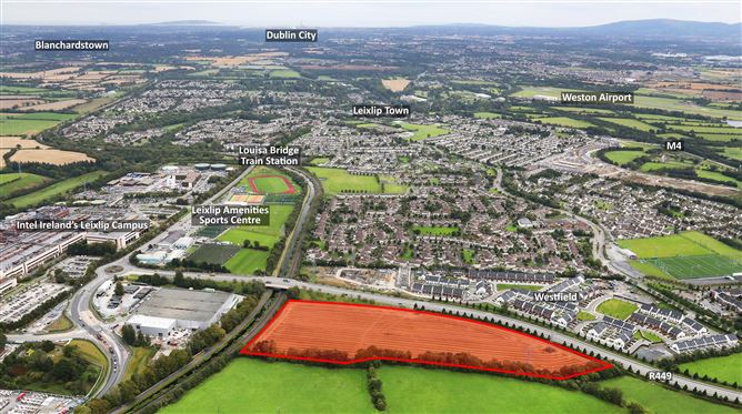 Main image for Approx. 12.95 acres, Collinstown,Leixlip,Co. Kildare