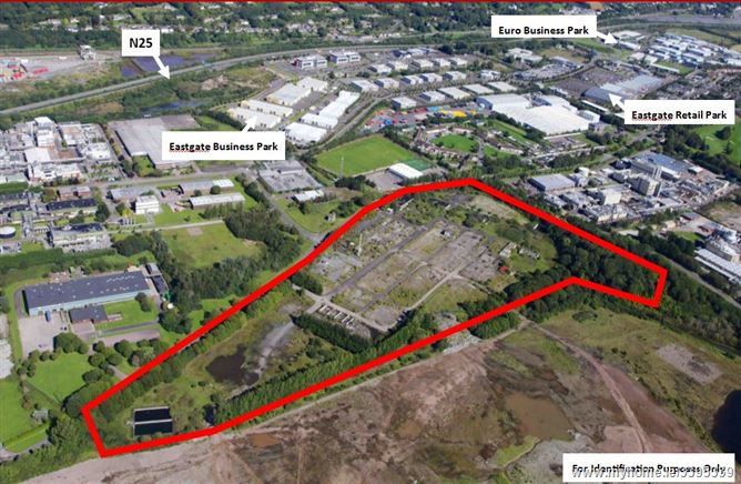 Former Mitsui Denman Site 324 Acres 131Hectares Little Island Cork