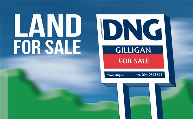 Main image for 23.69 acres of land at Ballyglass, Claremorris, Mayo