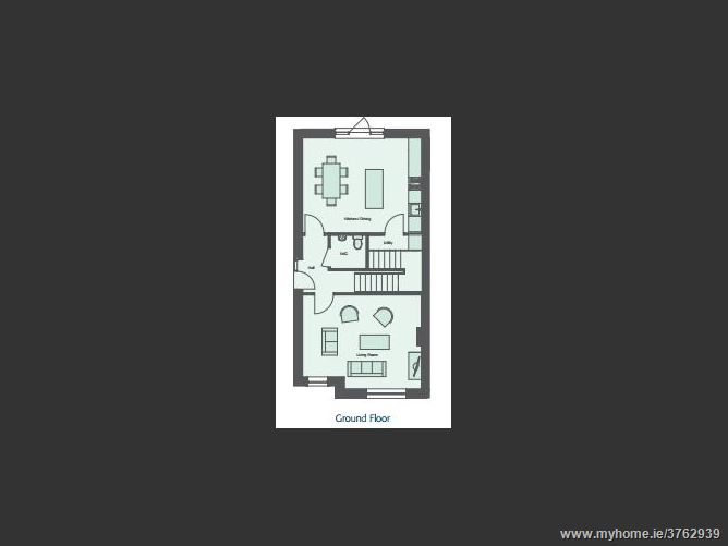 New 3 Bedroom Semi-Detached House Type B4, Ashfield, Ridgewood, Swords, County Dublin