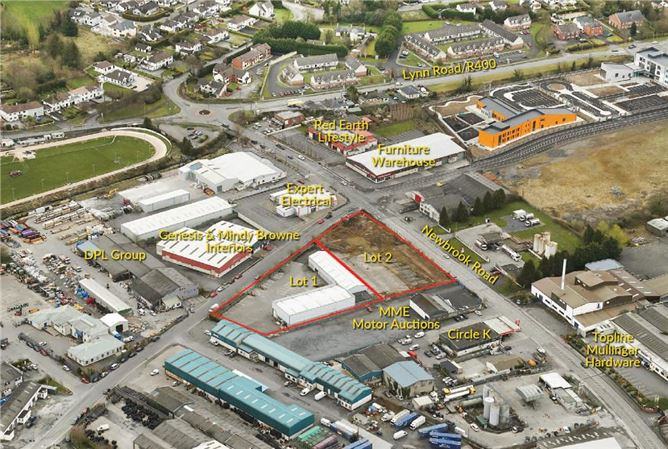 Main image for 2.1 Acres at Mullingar Business Park, Co. Westmeath, N91 AC81 , Mullingar,Co. Westmeath, N91 AC81
