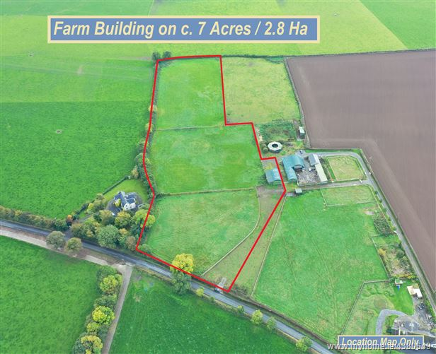 Farm Building on c. 7 Acres/2.8 Ha., Tullylost, Rathangan, Kildare
