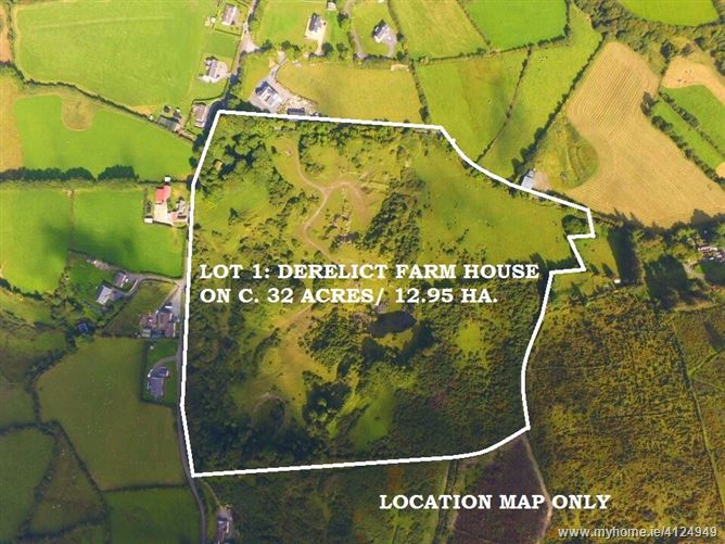 Ann Mount, Derelict Farm House on C. 32 Acres / 12.95 Ha; Glenasmole, Glenasmole, Dublin