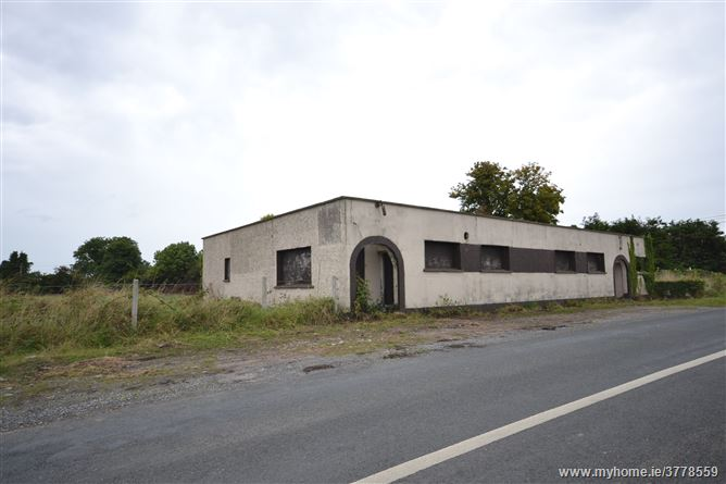 Derelict Property at Clogharinka, Broadford, Kildare on 2 acres.