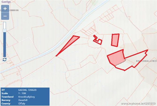 AMV €4,500 Per Acre - 58 Acres, Knock, Daingean, Offaly