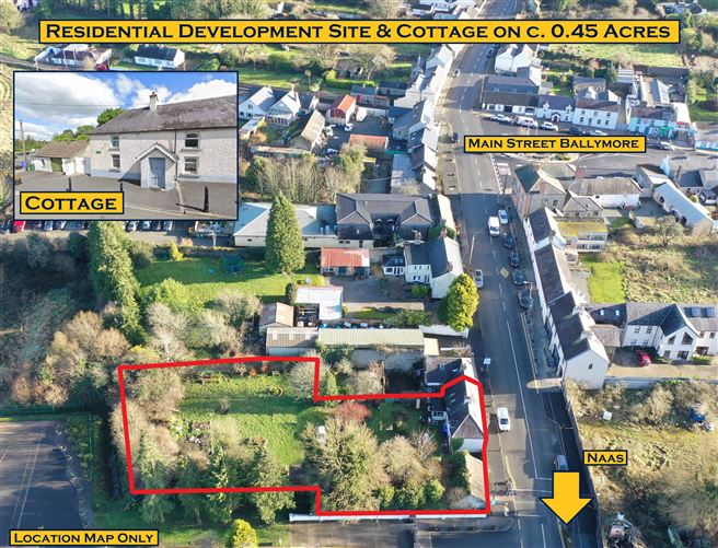 Main image for Residence, Cottage & Development Site, Main Street, Ballymore Eustace,  Co. Kildare, Ballymore Eustace, Kildare