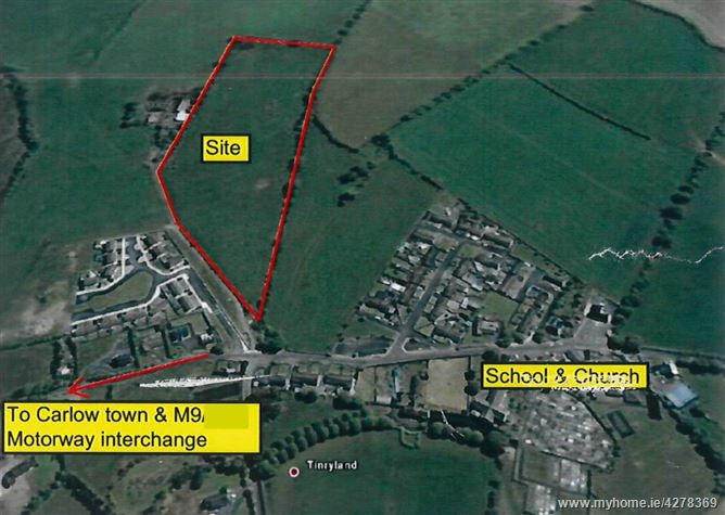 6.6 acre site , Tinryland, Carlow